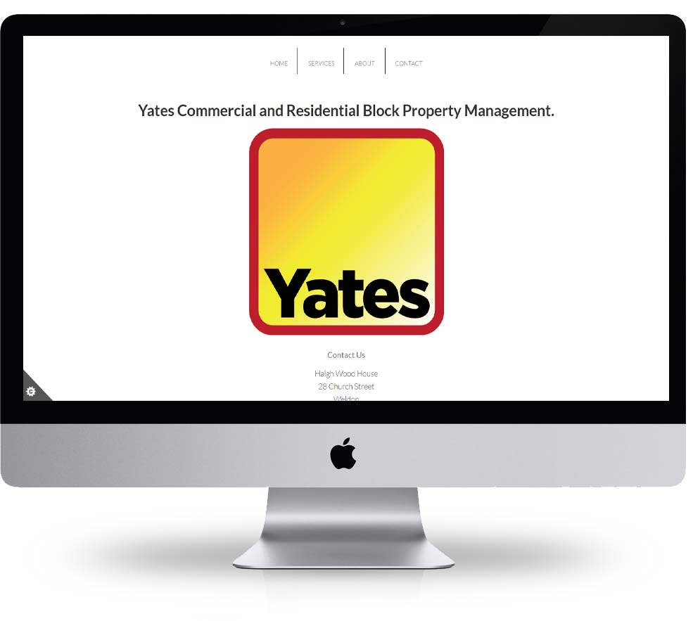 Yates corby website design built and hosted by spike dm