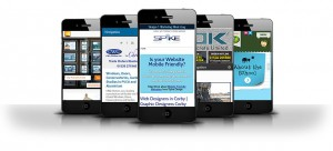 mobile websites from spike design