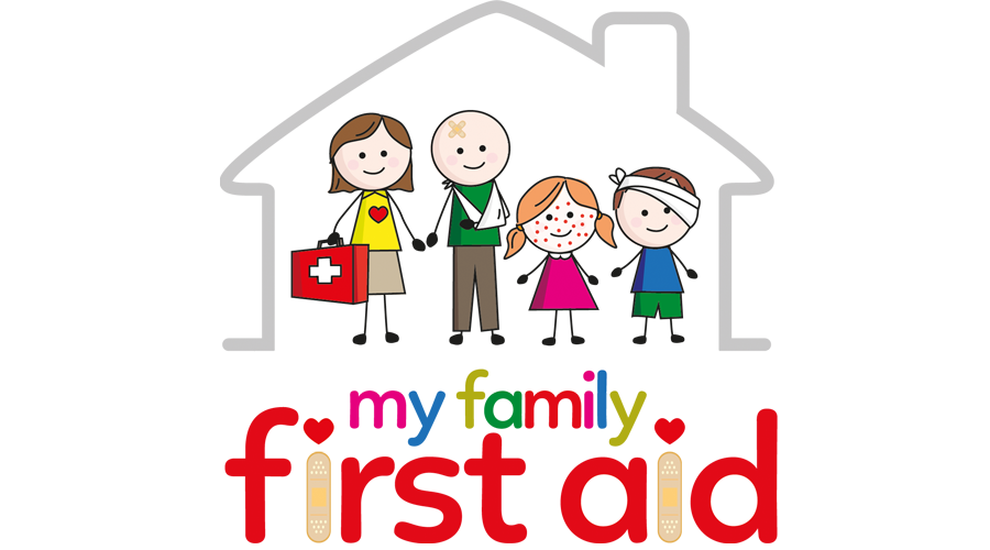 My Family First Aid Logo - Spike Design & Marketing Corby